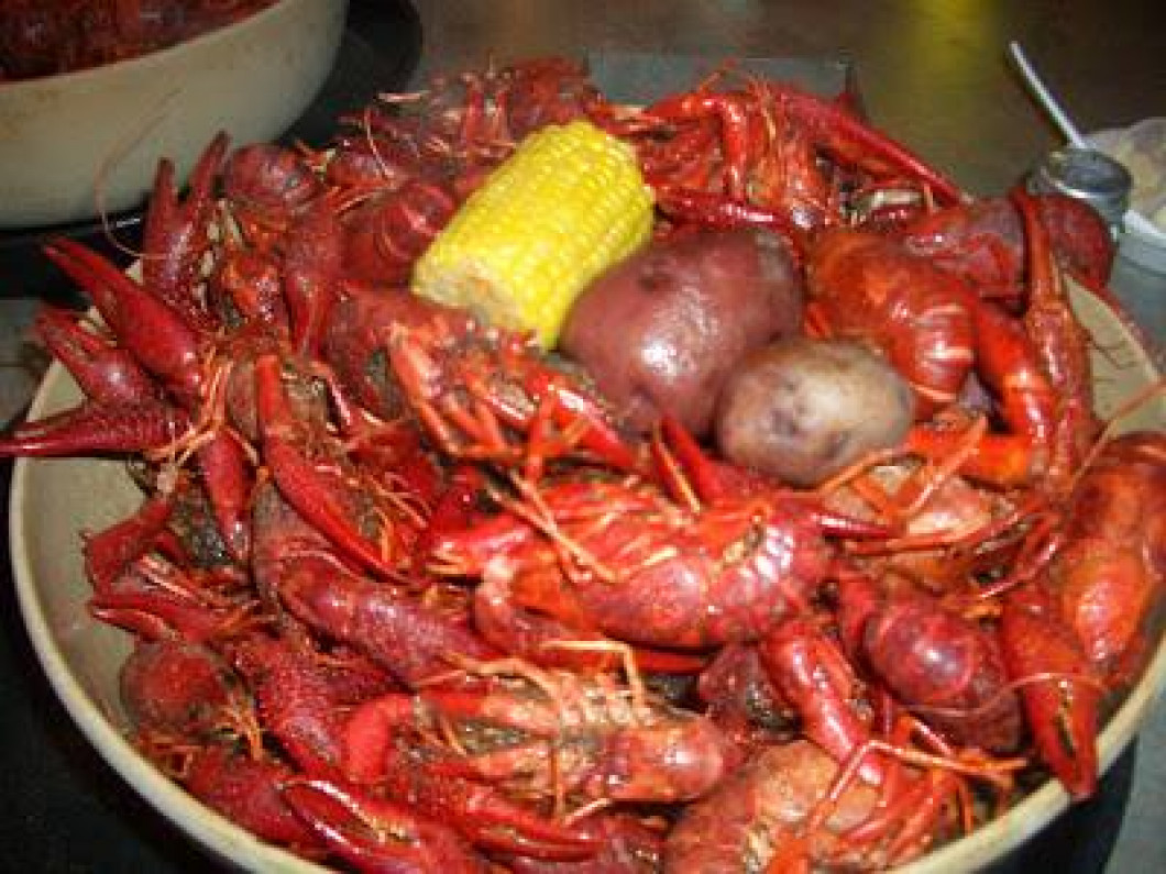 Now Serving Boiled Crawfish!